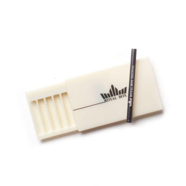 Royal Box – Plastic Retro White